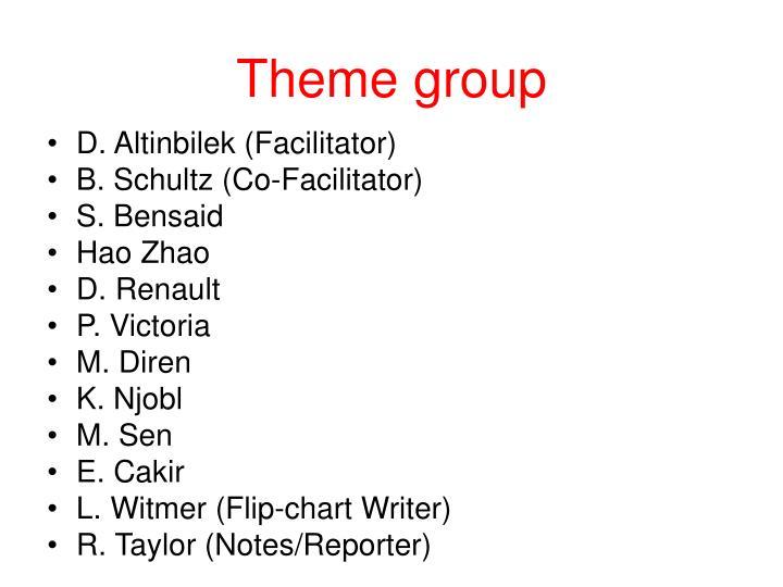 Theme group
