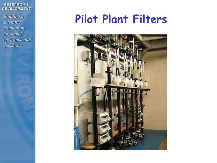 Pilot Plant Filters