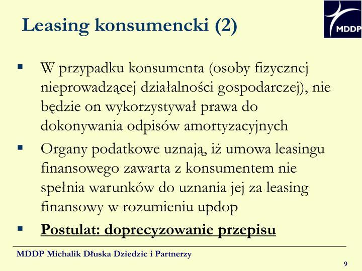 Leasing konsumencki (2)