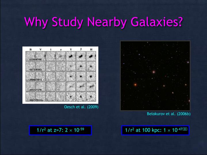Why Study Nearby Galaxies?
