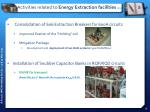 activities related to energy extraction facilities 1 2