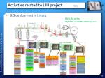 activities related to liu project 1 2