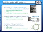 activities related to liu project 2 2