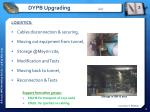 dypb upgrading 4 5
