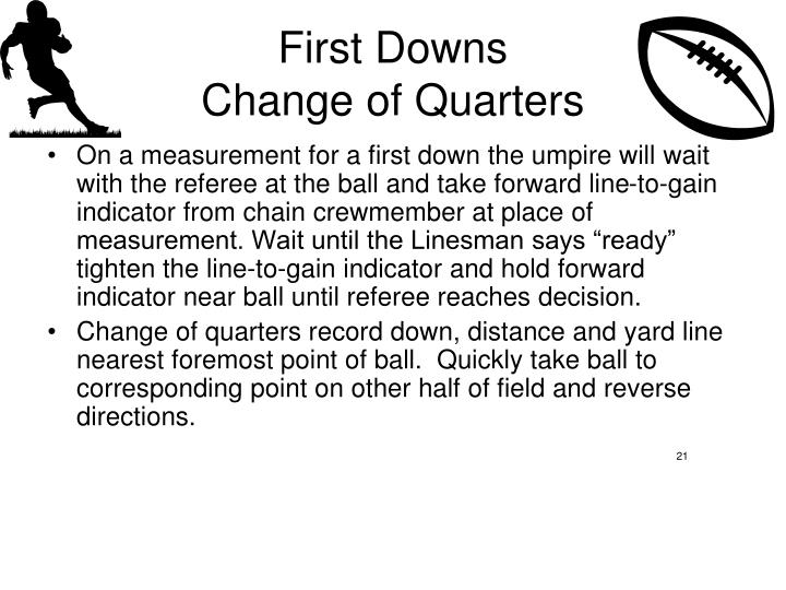 First Downs