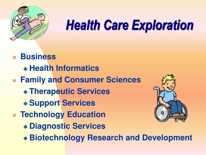 Health Care Exploration