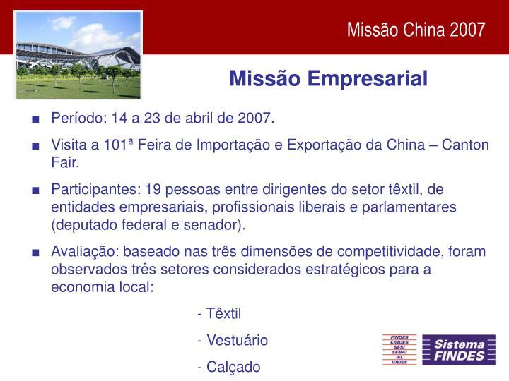 Missão Empresarial