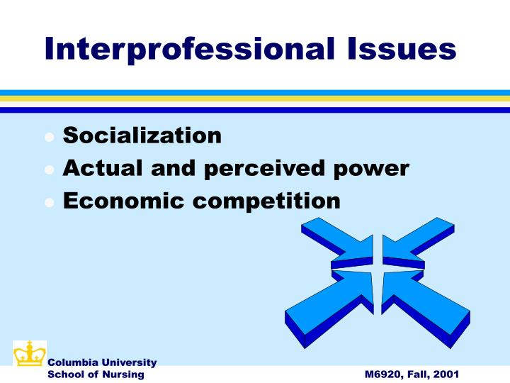 Interprofessional Issues