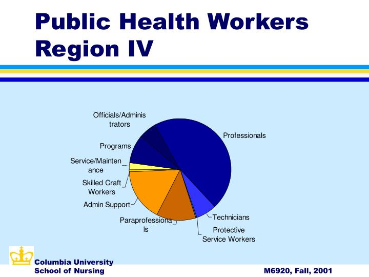 Public Health Workers Region IV