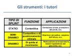 gli strumenti i tutori1