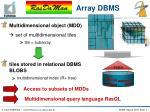 array dbms