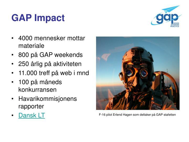 GAP Impact