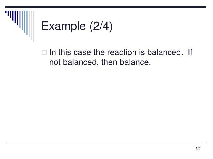 Example (2/4)