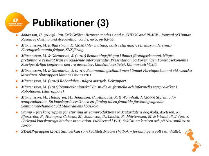 Publikationer (3)