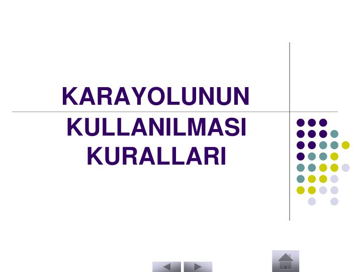 KARAYOLUNUN