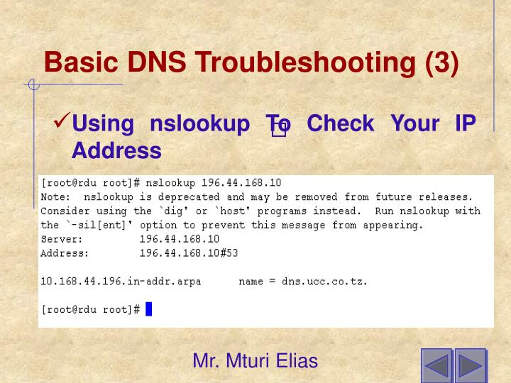 Basic DNS Troubleshooting (3)