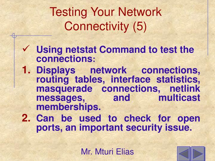 Testing Your Network Connectivity (5)