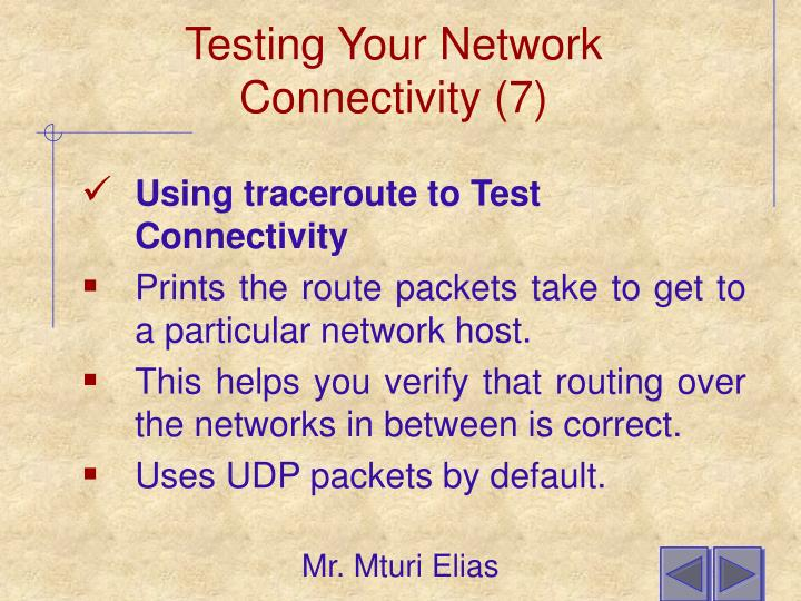 Testing Your Network Connectivity (7)