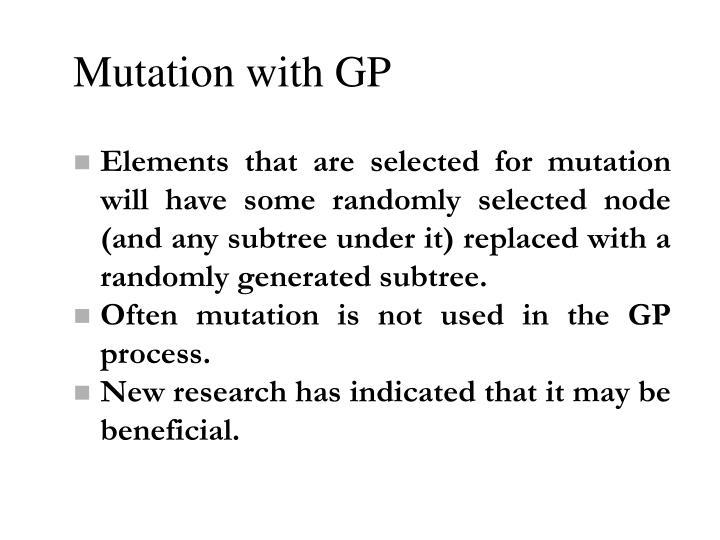 Mutation with GP