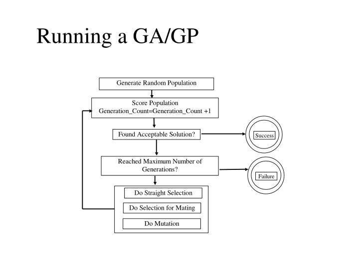 Running a GA/GP