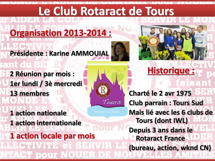 Le Club Rotaract de Tours