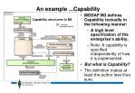 an example capability