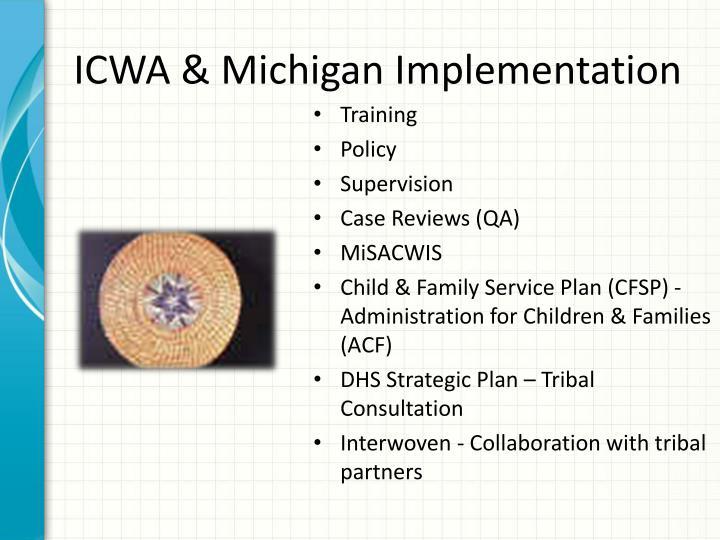 ICWA & Michigan Implementation