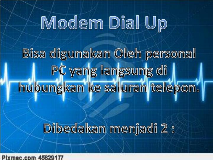Modem Dial Up