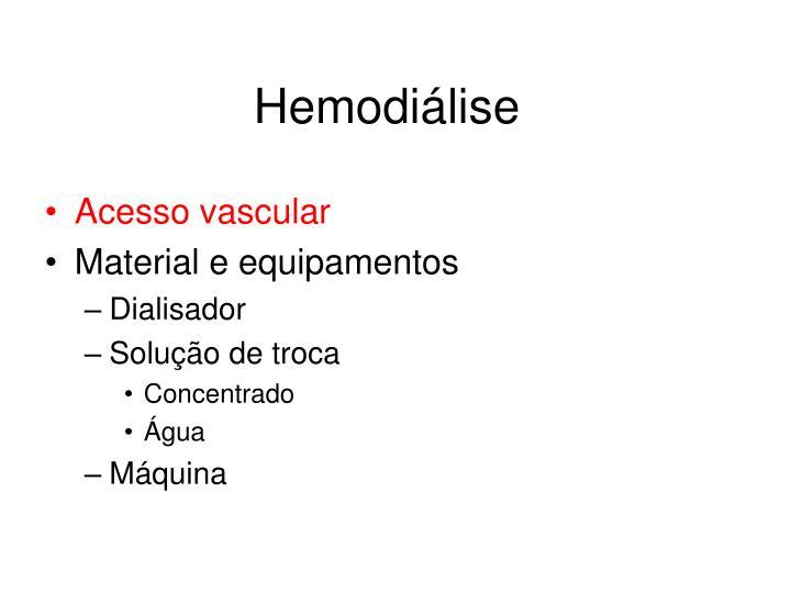 Hemodiálise