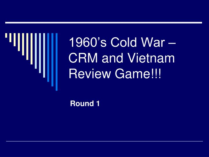 1960 s cold war crm and vietnam review game