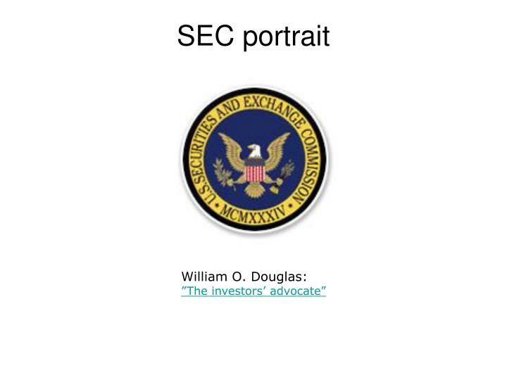 SEC portrait