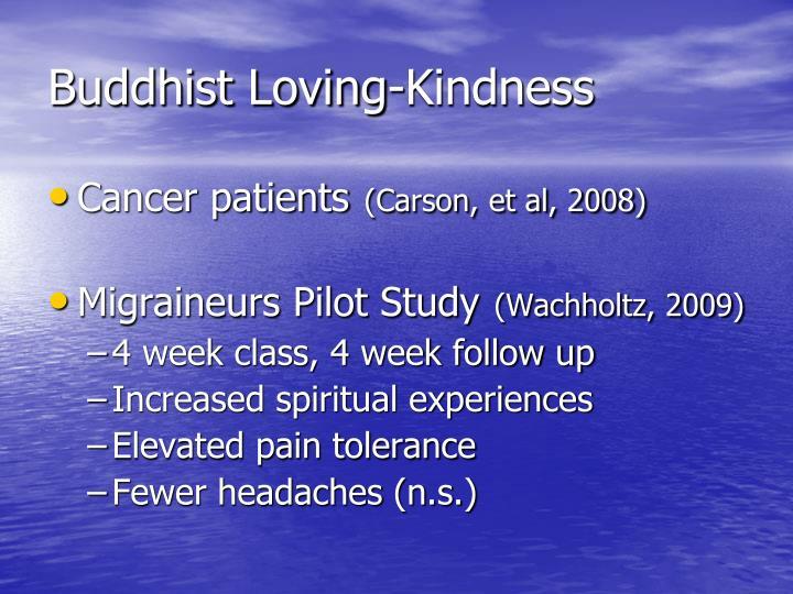 Buddhist Loving-Kindness