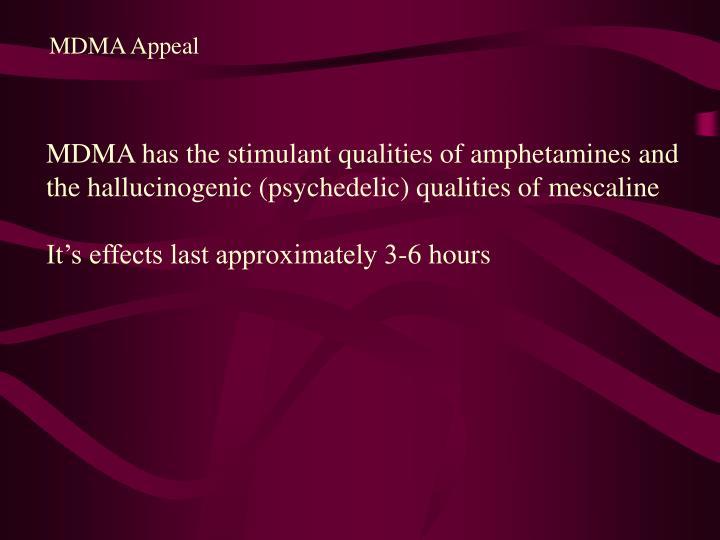 MDMA Appeal