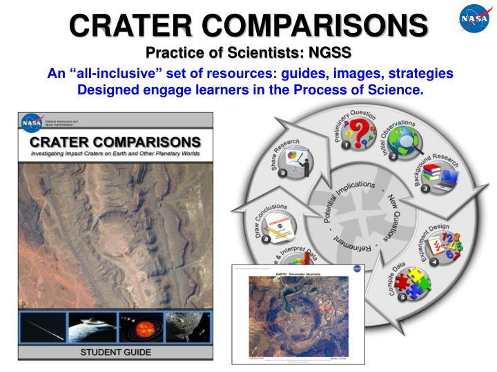 CRATER COMPARISONS