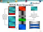 rtos boot sequences