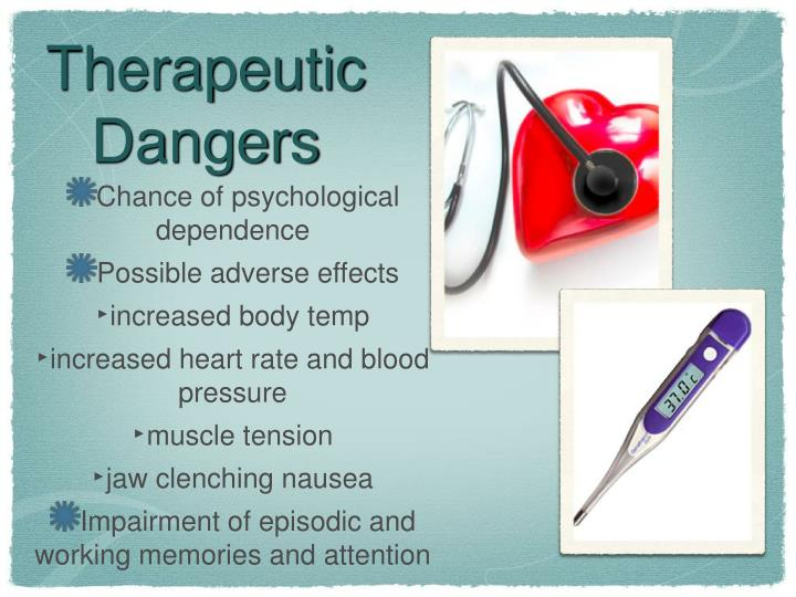 Therapeutic Dangers