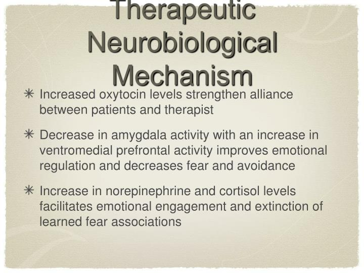Therapeutic Neurobiological Mechanism