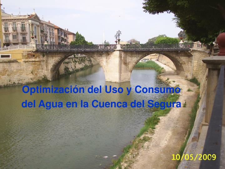 Optimización del Uso y Consumo