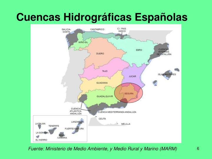 Cuencas Hidrográficas Españolas