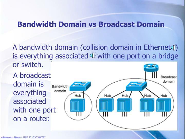 Bandwidth Domain vs Broadcast