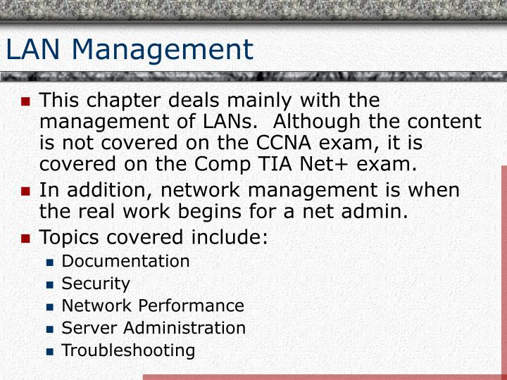 Lan management