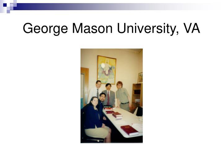 George Mason University, VA