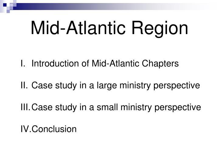 Mid atlantic region1