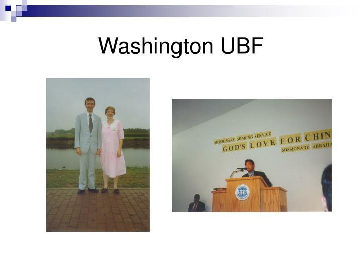 Washington UBF