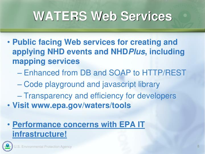 WATERS Web Services