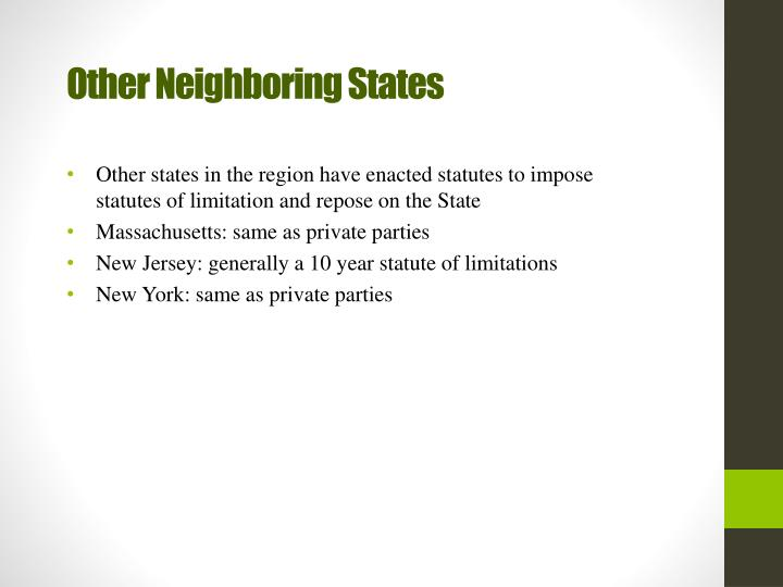 Other Neighboring States