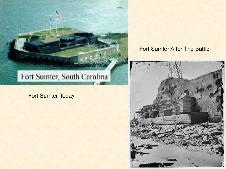 Fort Sumter After The Battle