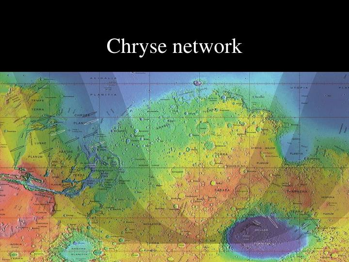 Chryse network