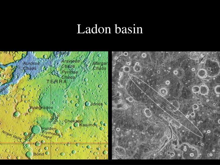 Ladon basin