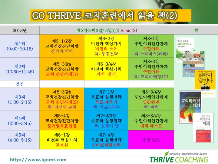 GO THRIVE